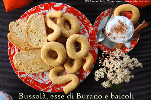 Bussolá, esse di Burano y Baicoli