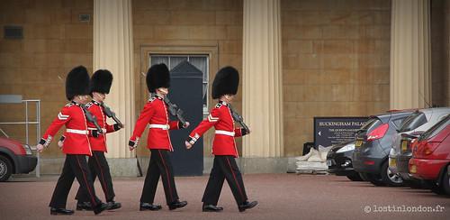 relève de la garde royale londres