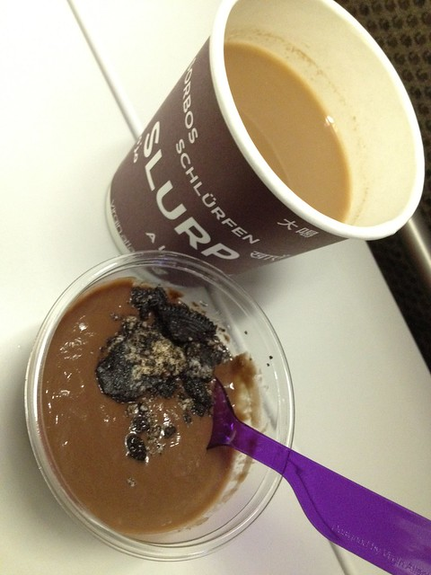 Chocolate Oreo pudding - Virgin Atlantic