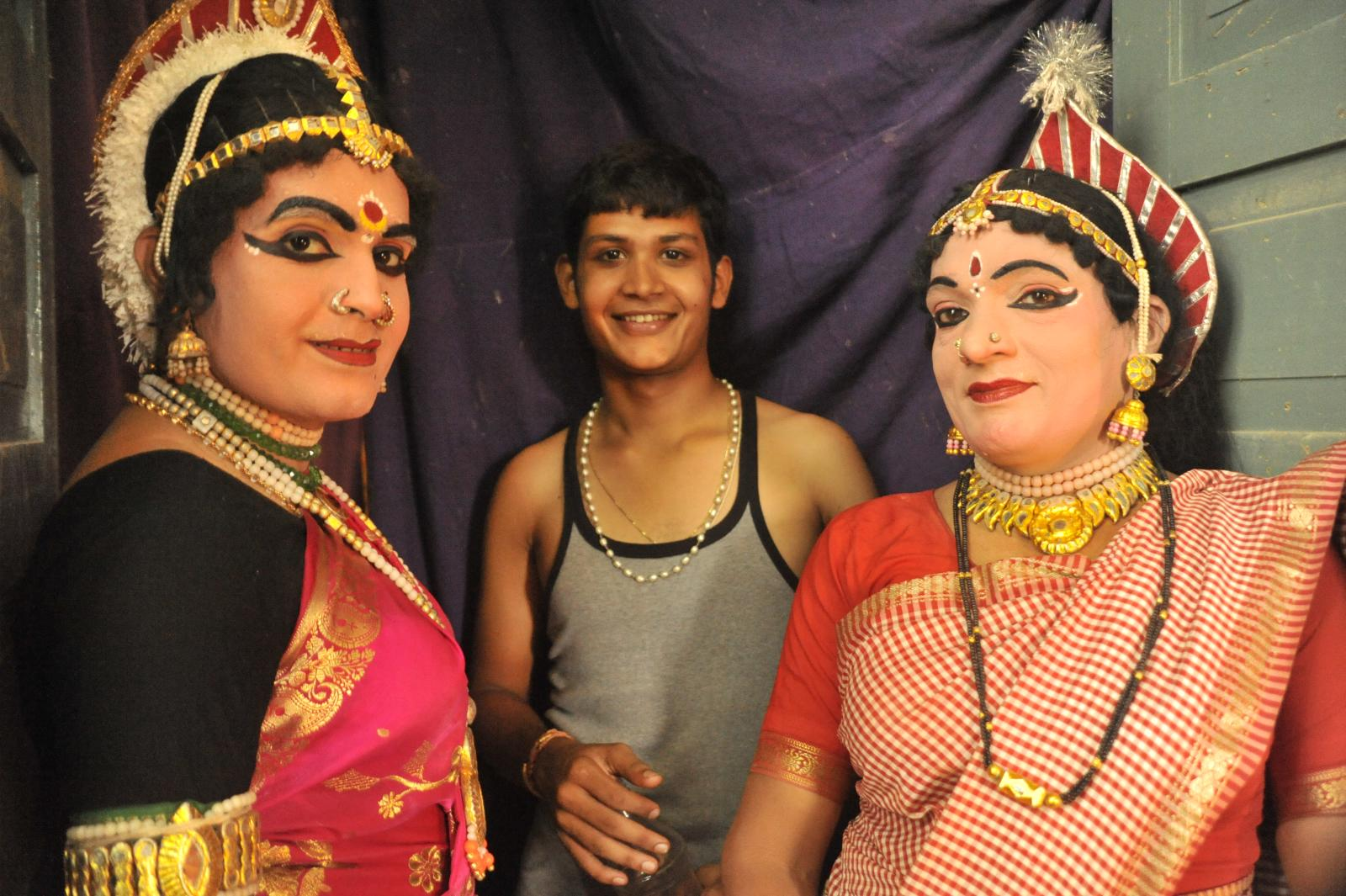 On the wings - Sairandhri and Sudheshna.. Yakshagana, Kichaka Vadha