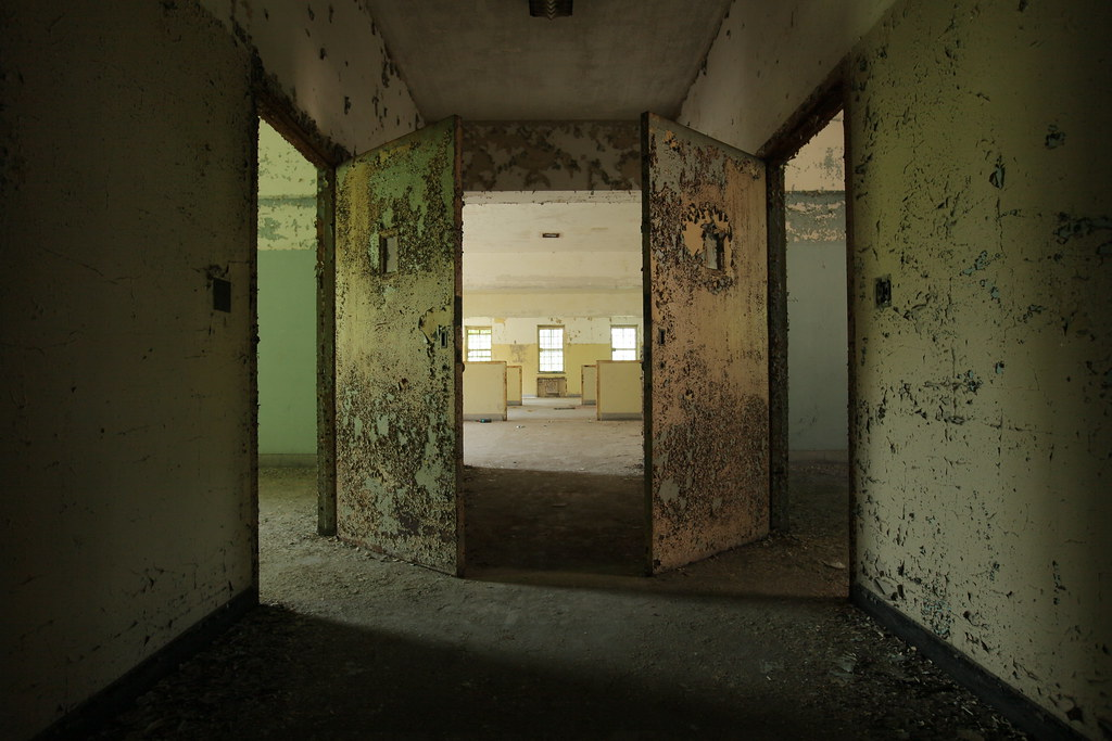 Inside Creedmoor State Hospital's Building 25