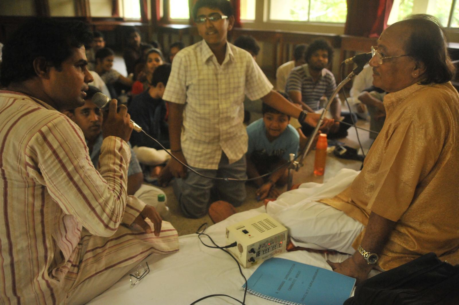 The Q&A with Vid. T V Gopalakrishnan ( Carnatic Vocal)