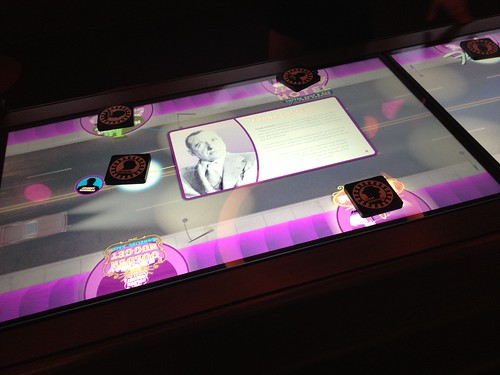 The interactive casino Table at the Mob Museum