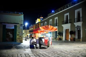 Night vendor.