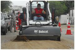 Máquinas trabalharão em dois turnos, manhã e noite, nos horários de menor tráfego. - Foto:Passarinho/Pref.Olinda