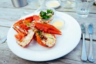 Grilled lobster @ De Vluchthaven