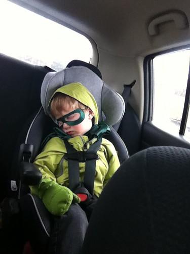 Even Superheroes Gotta Sleep