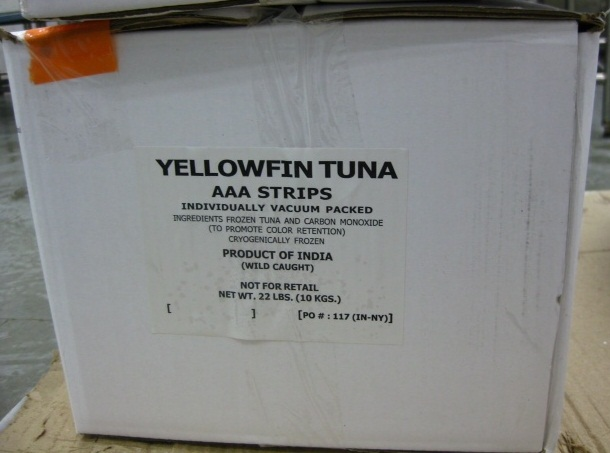 RECALLED – Yellowfin Tuna Strips