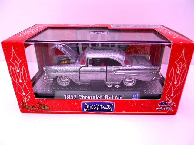 m2 machines auto dreamz boxed 1957 chevy bel air