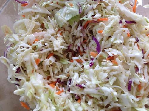 no-mayo coleslaw