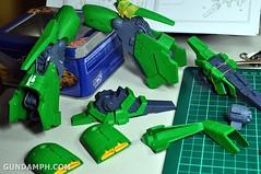 1-100 Kshatriya Neograde Version Colored Cast Resin Kit Straight Build Review (58)