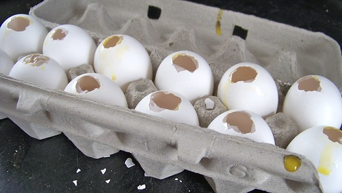Chocolate Filled Eggs