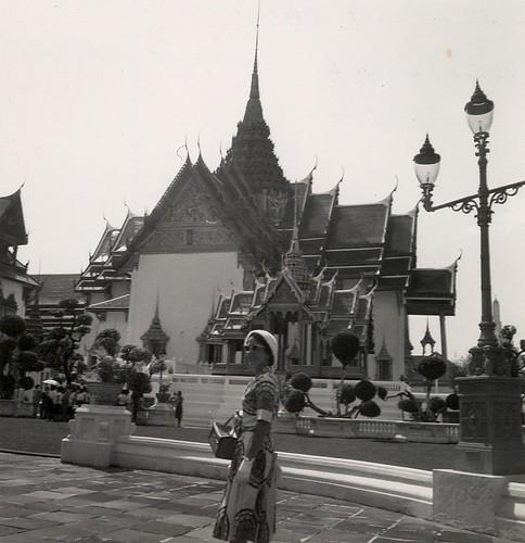 Emerald Buddha Temple Bangkok 1961