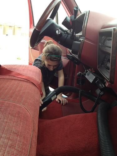 Vacuuming Z Crew