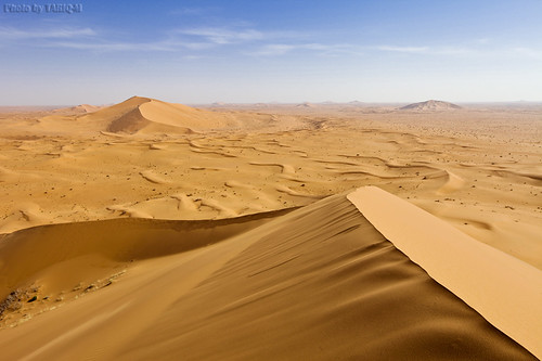 From the top of dunes by TARIQ-M
