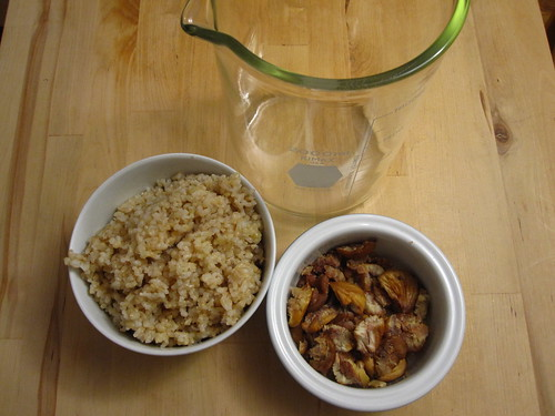 Brown Rice+Chestnuts for Kuchikami Sake