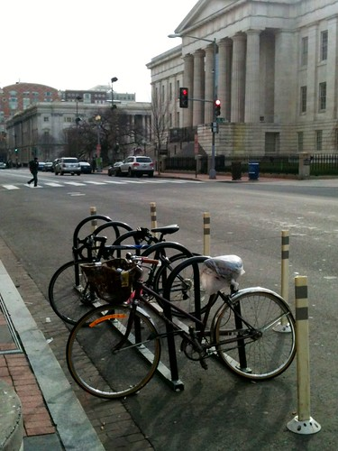 Washington, DC bike corral