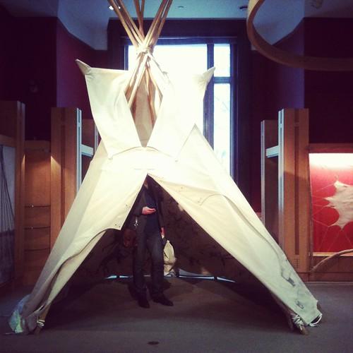 calle i tipi på native american museum