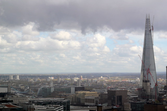 Friday: view from the top of St Paul's