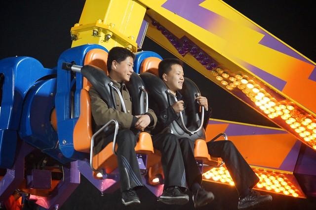 Kaeson Fun Fair Pyongyang, North Korea