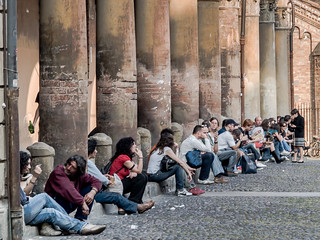 Bologna University Students by micurs