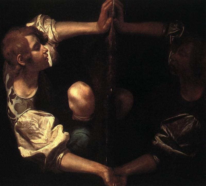 mirrors in water the story of narcissus art mirrors art a number of researchers here there should be some references added believe that to create his portrait of narcissus caravaggio in fact used a mirror