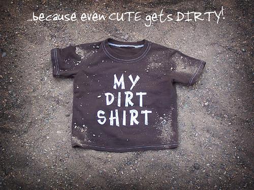 Dirt shirt blog with logo