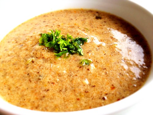 hungarian-styled mushroom soup