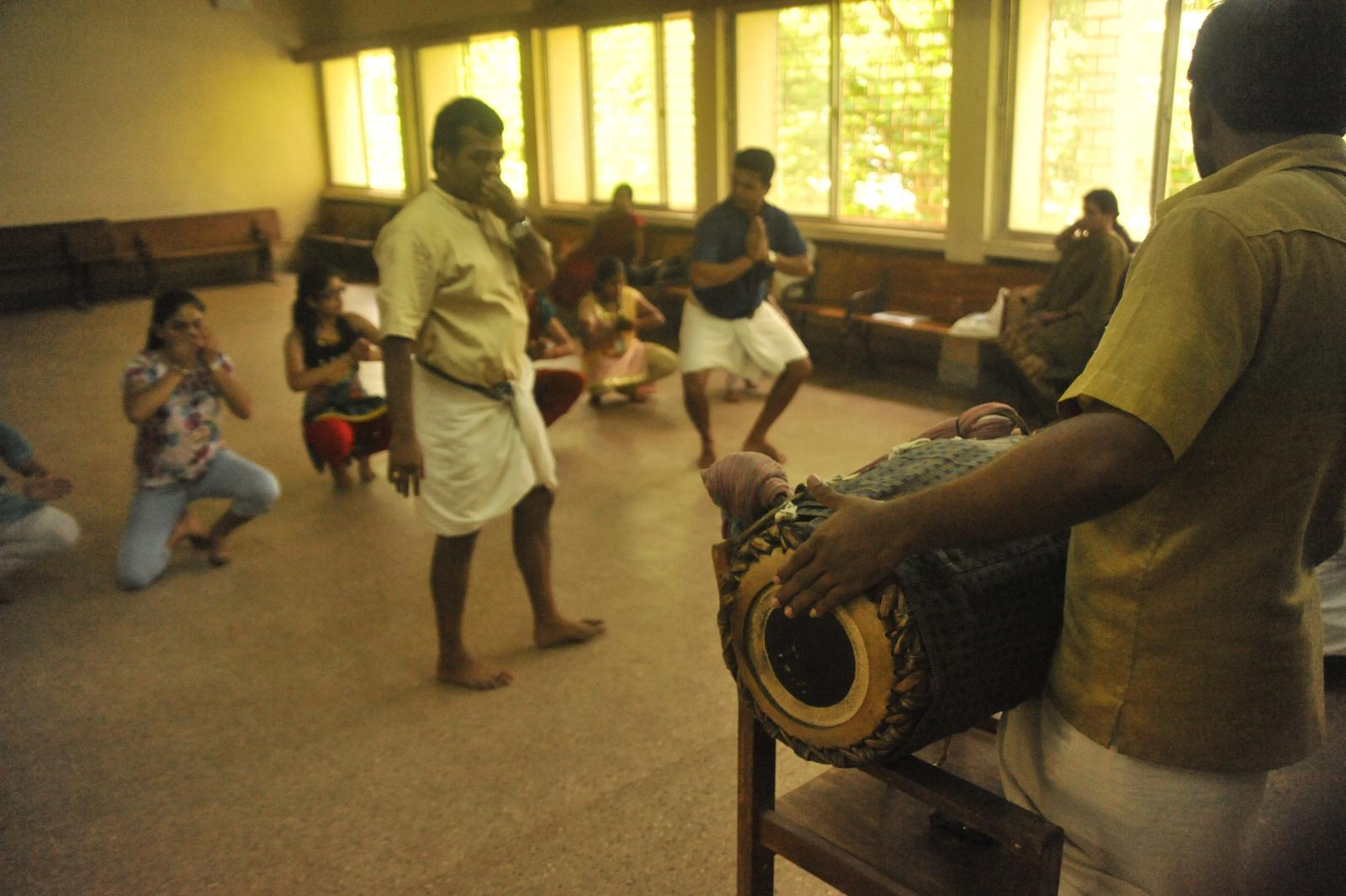 Kathakali dance form by Kalamandalam, Kerala