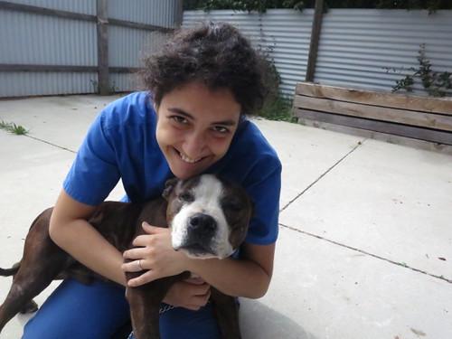 Diesel & I 2 weeks after his injury