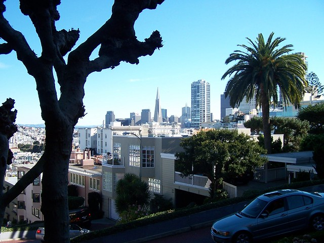 Financial District from Lombard Street