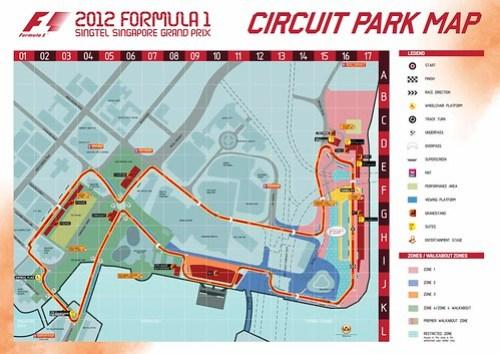 Circuit Park Map 2012