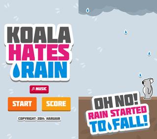 Koala Hates Rain Screenshot