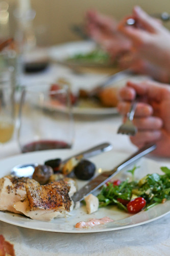 Za'atar chicken for dinner