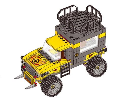 LEGO Dino: Mobile Command Center