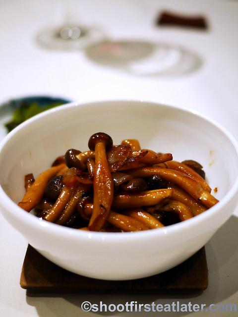 shimeji mushroom butteryaki P380