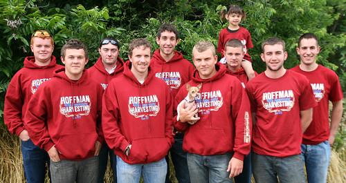 Hoffman Harvesting 2012 Team