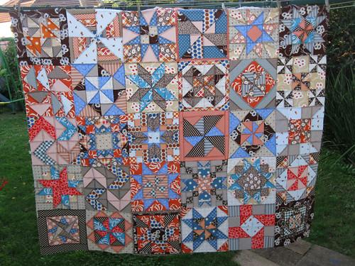 ATB quilt top finally assembled