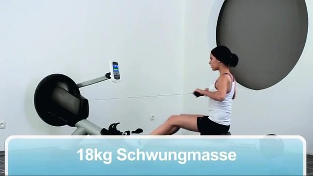 Rudergerät - ProSport XRG 1500 bei FitnessDirect Trainingsprogramme 18Kg Schwungmasse