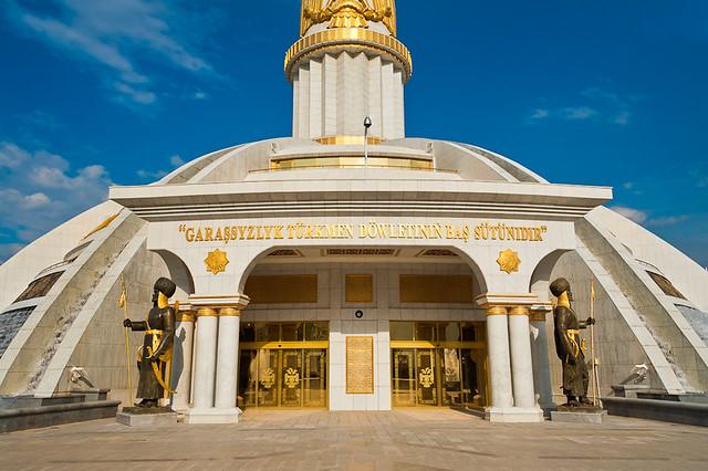 Independence Monument (Ashgabat - Turkmenistan)