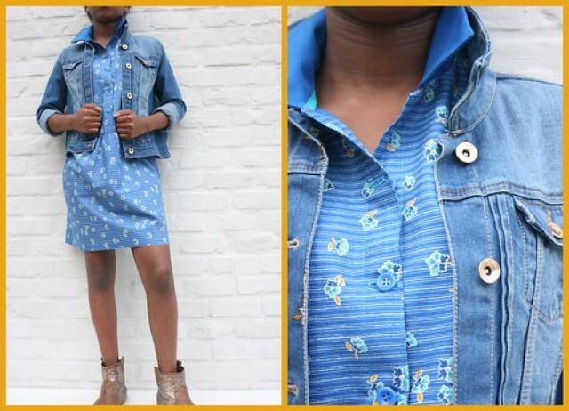teenager dress (+ jacket)