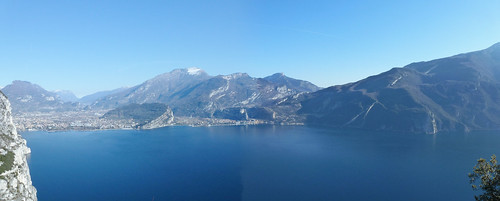 view of the lake from pregasina