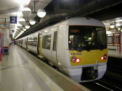London Rail: Servicio de Trenes en Londres