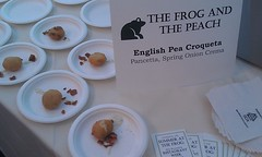 Frog and Peack croquette