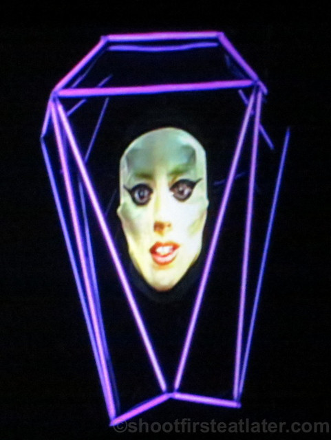 Lady Gaga at the SM Mall of Asia Arena