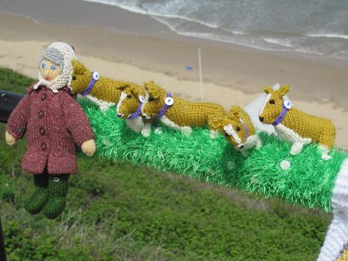 Saltburn Jubilee Knitting