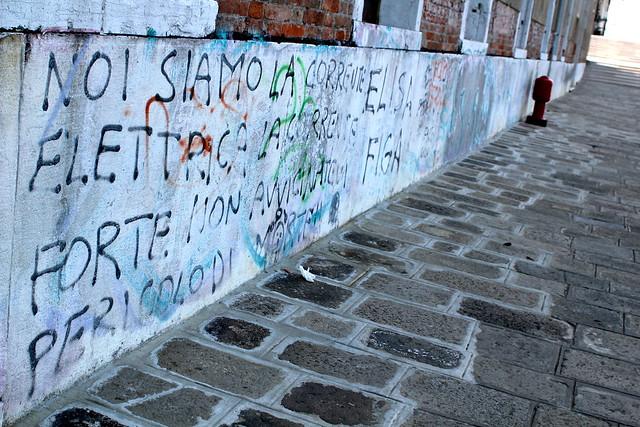 Graffiti in Venice