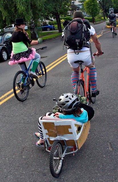 Hot Sock Ride - Pedalpalooza 2012