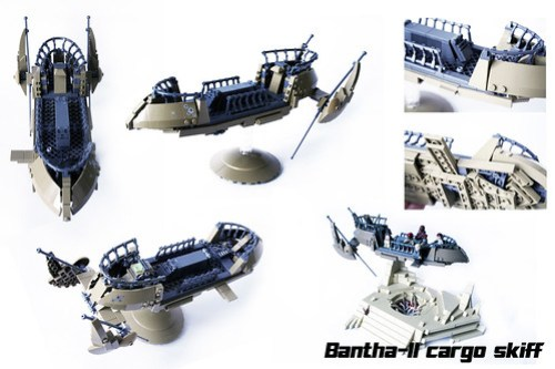 Bantha-II cargo skiff overview