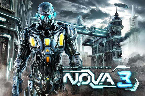 N.O.V.A 3 iOS disponible en el App Store
